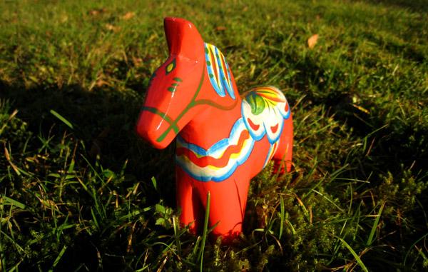 Cheval rouge de Dalécarlie