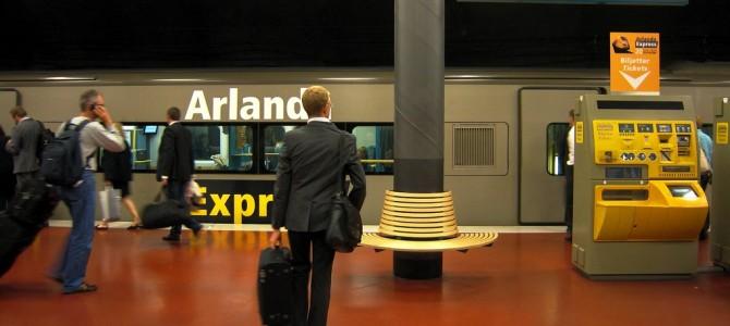 De l'aéroport au centre ville : l'Arlanda Express.