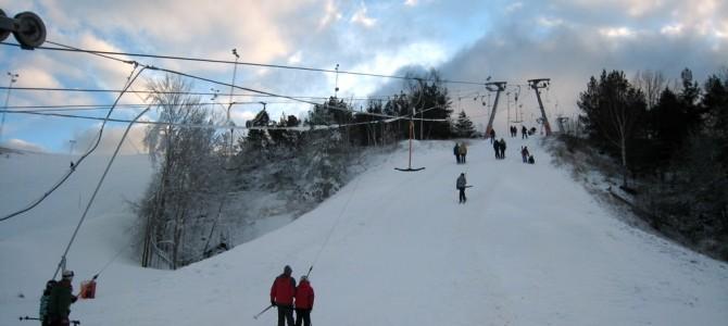 Skier à Stockholm, c'est possible.