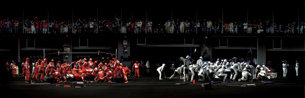 Andreas Gursky, F1 Boxenstopp