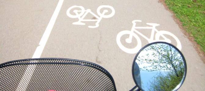 Stockholm à vélo.