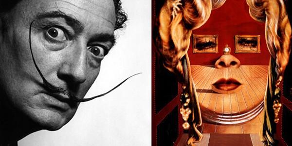 L'exposition Salvador Dalí.