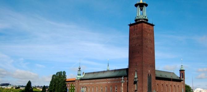 Stadshuset : l'hôtel de ville.