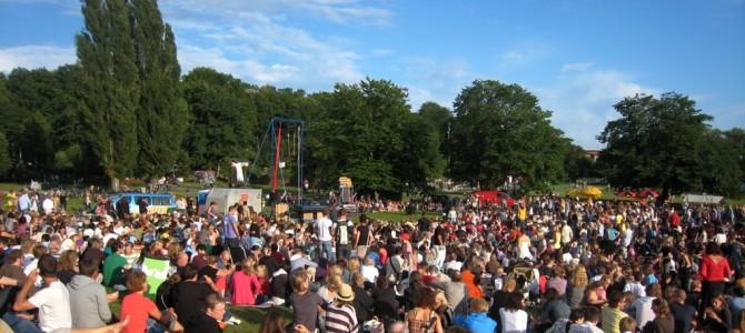 Théâtre dans les parcs de Stockholm.