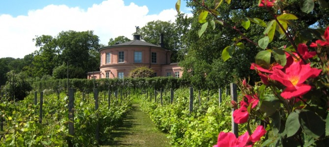 Les jardins de Rosendal.