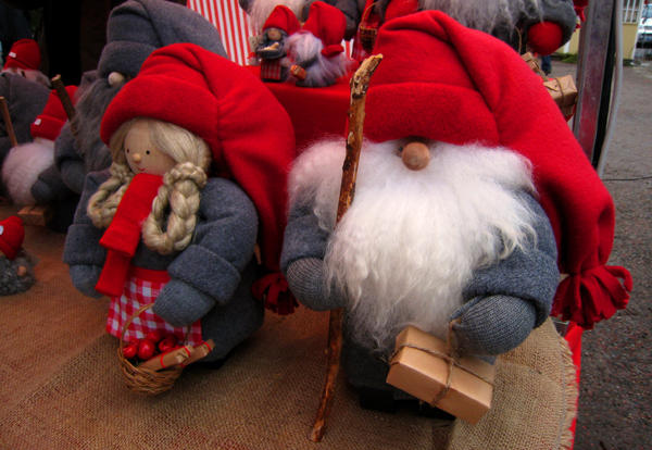 Marché de Noël, Vaxholm, tomte