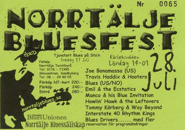 Norrtälje Bluesfest 2007