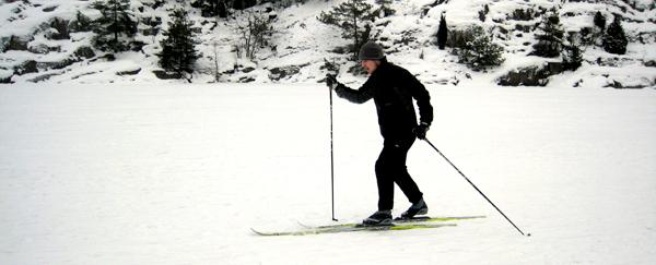 ski de fond Hellasgården