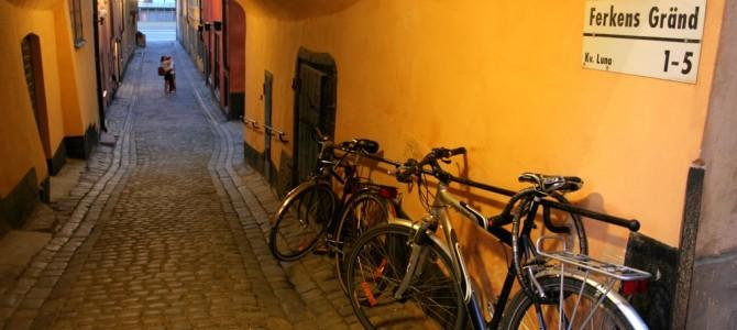 Gamla Stan (la vieille ville).