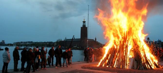 La nuit de Walpurgis (Valborgsmässoafton).