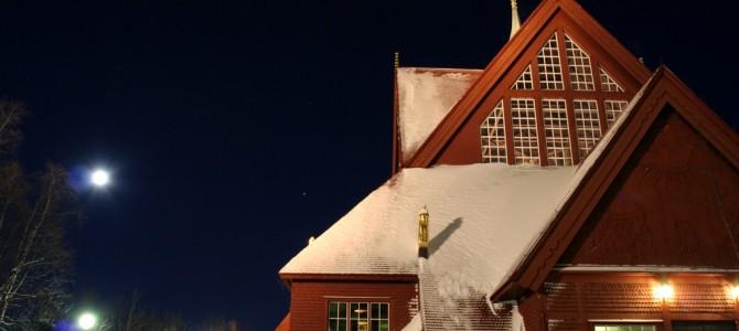 Voyage en Laponie suédoise : Kiruna.