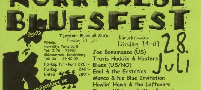 Norrtälje Bluesfest : Festival de Blues.