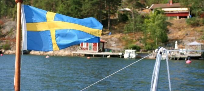 Midsommar à Finnhamn.