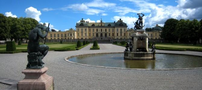 Le château de Drottningholm.