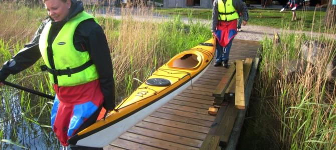 Faire du kayak à Stockholm.