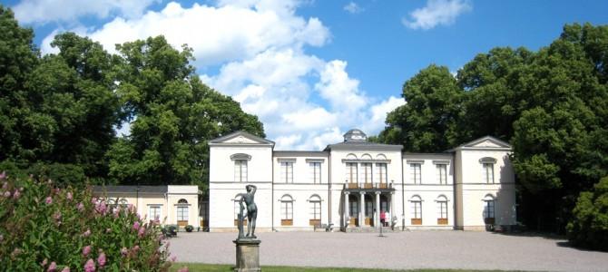 Le château de Rosendal.