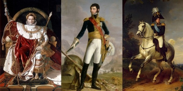 Napoléon, Karl Johan et Alexandre au National Museum.