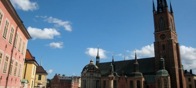 Riddarholmskyrkan : l'église de la Noblesse.