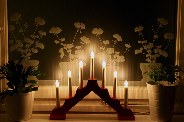 le bougeoir 7 branches stockholm la carte visites guid es en fran ais. Black Bedroom Furniture Sets. Home Design Ideas